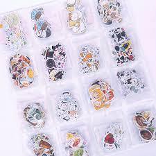40 <b>PCS</b>/<b>LOT CUTE Cat</b> Head mini paper sticker decoration DIY ...