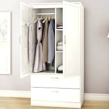 clothing armoire wardrobe white bedroom clothes storage wardrobe cabinet with 2 intended for clothing with drawers