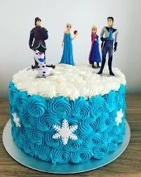 Frozen Theme Cake Food Drinks Baked Goods On Carousell