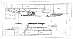 kitchen lighting plans. Kitchen Lighting Layout Stylish Pertaining To . Plans