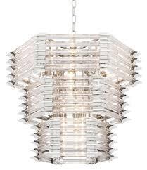 Casa Padrino Luxus Glas Kronleuchter Silber 65 X 65 X H 54