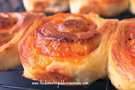 40 Minute Ham And Cheese Pinwheel Bread Rolls The Domestic Goddess
