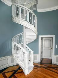 Wandfarbe Blau Grau Anna Von Mangoldt Treppenhaus Wandfarbe
