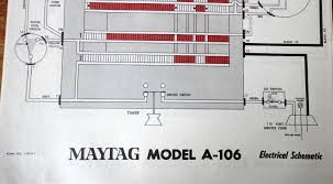 tag electrical schematics for vintage washers dryers appliances tag electrical schematics for vintage washers dryers appliances model a 106 1797395505