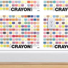Wallpaper Crayon Color Chart Crayola Crayons Graphic Design Palette