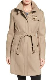 Michael Kors Coat Nordstrom Rack MICHAEL Michael Kors Wool Blend Trench Coat Petite Nordstrom Rack 32