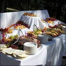 buffet wedding food table ideas