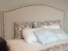 i love our new drop cloth upholstered headboard and i am so happy we decided to take on this diy challenge because the finished is just what i was