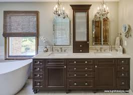 walnut double vanity view full size