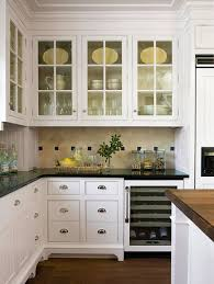 Pictures Of Impressive Kitchen Cabinets With Glass Doors