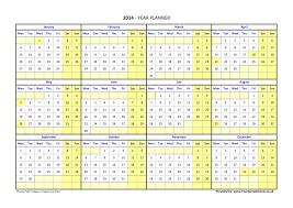 Year To Year Calendar Year Planner