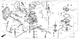 honda trx450r engine diagram honda wiring diagrams