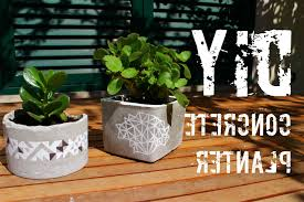 Photo 3 of 10 DIY - Concrete Planter - YouTube (awesome Diy Concrete Planter  Idea #3)
