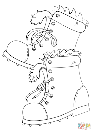 Small Picture Winter Boots coloring page Free Printable Coloring Pages