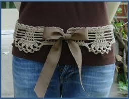 Crochet Belt Pattern Cool Design