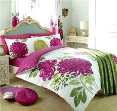 green duvet cover king lime