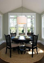 round rug under square dining table area rugs for kitchen elegant great and what