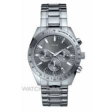 "men s guess chase chronograph watch w13001g1 watch shop comâ""¢ mens guess chase chronograph watch w13001g1"