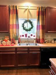 Kitchen Sink Window Window Treatments For Kitchen Window Over Sink