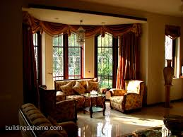 Latest Curtain Design For Living Room Living Room Curtain Ideas For Bay Windows Home Design To Living
