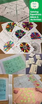 ideas and activities for teaching solving equations in algebra