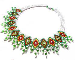 Beaded Necklace Patterns Inspiration Free Pattern For Necklace Irma Beads Magic