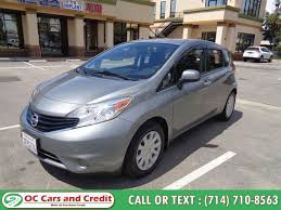 used 2016 nissan versa note in garden grove california oc cars and credit