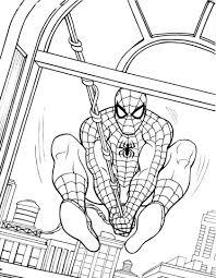 Lusso Disegni Da Colorare Spiderman Da Stampare Migliori Pagine Da