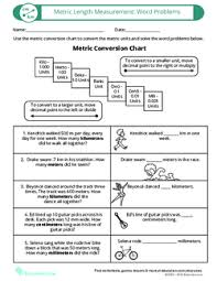 Converting Metric Measurement In Word Problems Lesson Plan