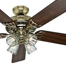 ceiling fans with four lights.  Four Hunter 52 Intended Ceiling Fans With Four Lights