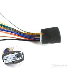 car audio stereo wiring harness adapter for nissan subaru infiniti features 1 harness is used when installing an aftermarket cd dvd stereo 2 connects the aftermarket stereo harness to the vehicles factory harness