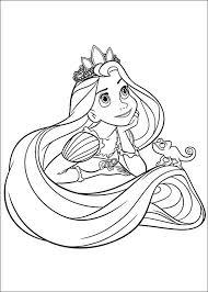 Kleurplaten Disney Rapunzel