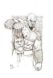 Kratos God Of War Rafael De
