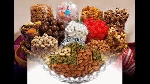 Dry fruit basket decoration