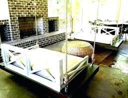 hanging bed outdoor stunning hanging outdoor bed diy hanging bed