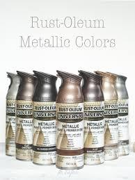 Rust Oleum Metallic Spray Paints Hardware Ideas For Karley