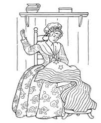 Small Picture Revoltionary War Colonial Flag and Blue Coat Coloring Page