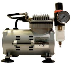 the wac1000 air compressor is a portable lightweight air compressor for airbrush painting it plugs into any standard ac it is thermally protected