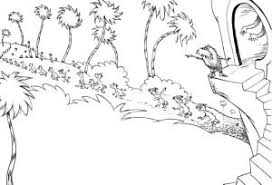 Small Picture Truffula Tree Coloring Page Coloring Pages Ideas Reviews