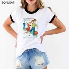 <b>Hot Friends Printing Women's</b> T shirt Casual Round neck tee shirt ...