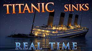 Titanic Sinks REAL TIME - 2 HOURS 40 MINUTES - YouTube
