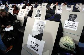 Grammys 2017 Seating Chart Pics Grammy Awards Seating Chart Photos See Where The