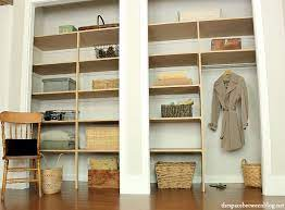 easy diy wall to wall closet the