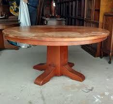 round dining table with four leaves 60 diameter sold