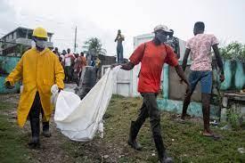 quake-hit Haiti as death toll tops ...