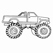 Free Monster Truck Coloring Pages At Getcoloringscom Free
