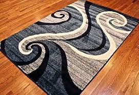 25 navy and grey area rug white