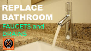 Best Bath Decor bathroom connections : Replacing Bathroom Faucet and Drain Connections (Fast!) - YouTube