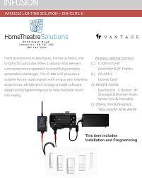 wireless lighting solutions. Wireless Lighting Solutions. Vantage Controls \\u2013 Solution Din-iclite-6 Solutions S