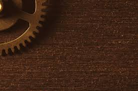 Brown Background Vintage Brown Background With Gears Border Photohdx